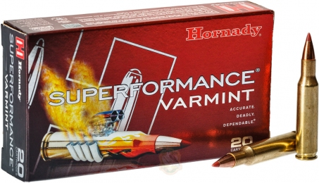 Набій Hornady Superformance кал. 222 Rem куля NTX маса 35 гр (2.3 г)