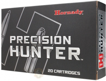 Набій Hornady Precision Hunter кал .300 Win Mag куля ELD-X маса 200 гр (13 г)