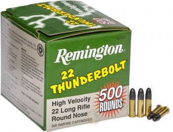 Набій Remington THUNDERBOLT High Speed кал 22 LR RN 2.6 гр